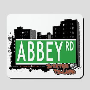 ABBEY ROAD, STATEN ISLAND, NYC Mousepad