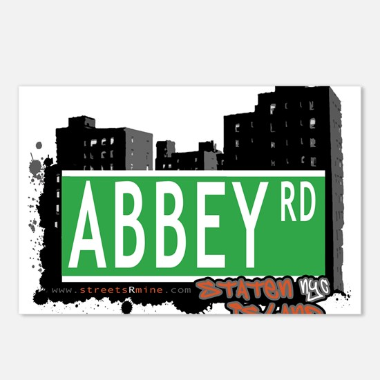 ABBEY ROAD, STATEN ISLAND, NYC Postcards (Package