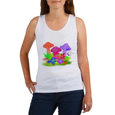 Magic Mushrooms Women's Tank Top