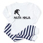 Math Ninja Toddler Pajamas