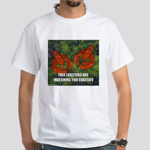 Tree Lobsters: Cogitate White T-Shirt