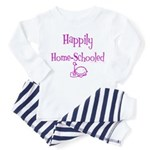 happily home schooled Toddler Pajamas