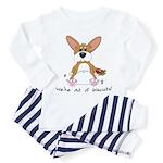 Tubby Corgi Toddler Pajamas
