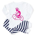 Kokopelli Mountain Biker Toddler Pajamas