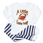 Little Crabby Toddler Pajamas
