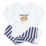 For cute Peach Girl Toddler Pajamas