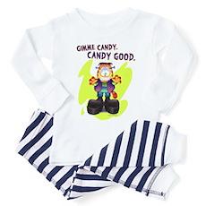 Garfield Gimme Candy Toddler Pajamas