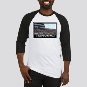 """I'd Rather Be At The Track"" Baseball Jersey"