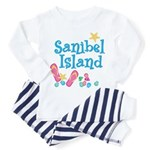 Sanibel Island - Toddler Pajamas