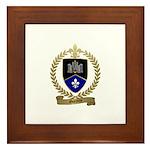 GUERETTE Family Crest Framed Tile