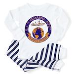 USS KASKAKIA Toddler Pajamas