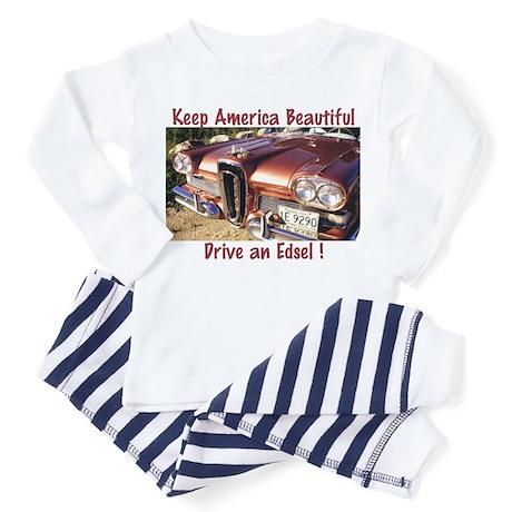 Drive an Edsel Toddler Pajamas