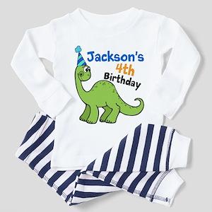 Dinosaur Birthday Toddler Pajamas