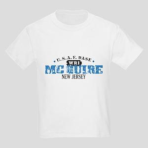 McGuire Air Force Base Kids Light T-Shirt