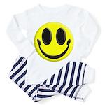 Smiley Face Toddler Pajamas