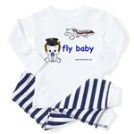 2-baby pilot with text Pajamas