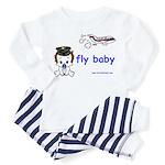 2-baby pilot with text Pajamas