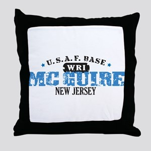 McGuire Air Force Base Throw Pillow