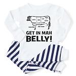 Get In Mah BELLY! Beef - Baby/Toddler Pajamas