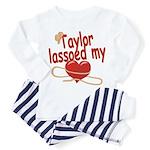 Taylor Lassoed My Heart Toddler Pajamas