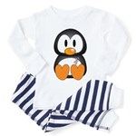Breast Cancer Penguin Toddler Pajamas