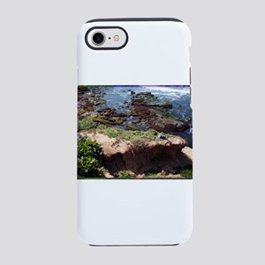 California Coast with Seagull iPhone 7 Tough Case