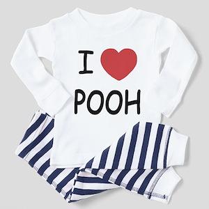 01994bba8a78 Pooh Bear Toddler Pajamas - CafePress