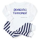 domesticTerrorist Toddler Pajamas