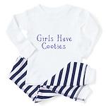 Girls Have Cooties Toddler Pajamas