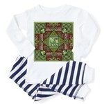 Celtic Dragon Labyrinth Toddler Pajamas