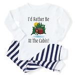 At The Cabin Toddler Pajamas