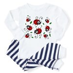 Cute Ladybug pattern Toddler Pajamas