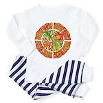 Celtic Autumn Leaves Toddler Pajamas