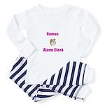 Human Alarm Clock Toddler Pajamas