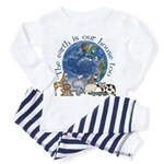 The Earth Is Our House Too Toddler Pajamas