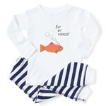 Eat my bubbles - fish - Toddler Pajamas