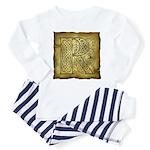 Celtic Letter R Toddler Pajamas