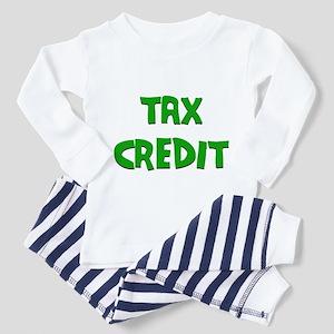 Tax Credit Toddler Pajamas