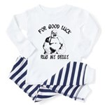 rub the buddha belly Toddler Pajamas