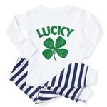 4 Leaf Lucky Toddler Pajamas