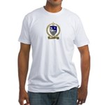 GUILBEAU Family Crest Fitted T-Shirt