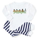 Snail Parade - Toddler Pajamas