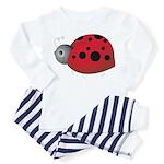 Solo Ladybug Toddler Pajamas