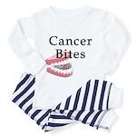 Cancer Bites Toddler Pajamas