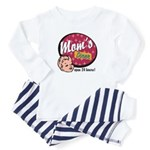 Mom's Diner Toddler Pajamas