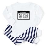 Ring Bearer Nametag (black) Toddler Pajamas