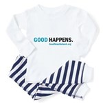 gdhpns_White_ToddlerTee Pajamas