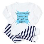 prefer mummys milk Toddler Pajamas