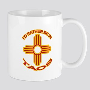 I'd Rather Be In Taos Mug