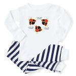 Lucky Ladybugs Toddler Pajamas